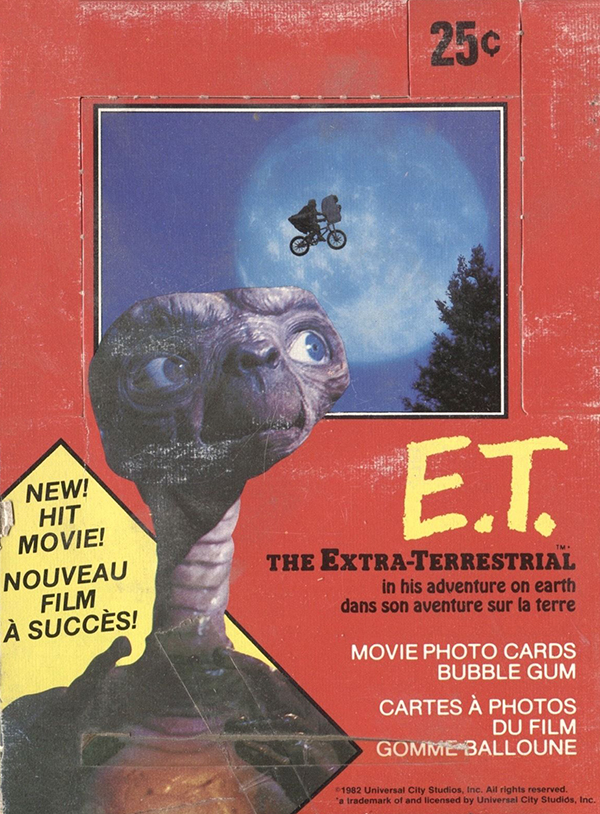 1982 O-Pee-Chee ET The Extra-Terrestrial Box