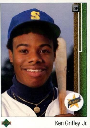 1989 Upper Deck Ken Griffey Jr Young