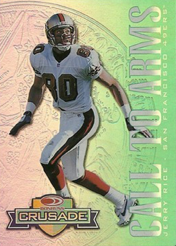 1998 Leaf Rookies and Stars Crusade 11 Jerry Rice