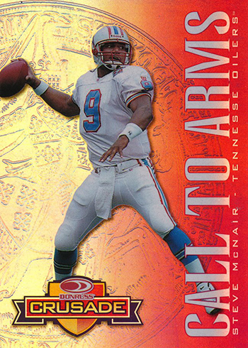 1998 Crusade 13 Steve McNair Red