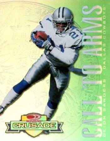 1998 Crusade 18 Deion Sanders