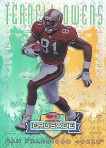 1998 Crusade 22 Terrell Owens