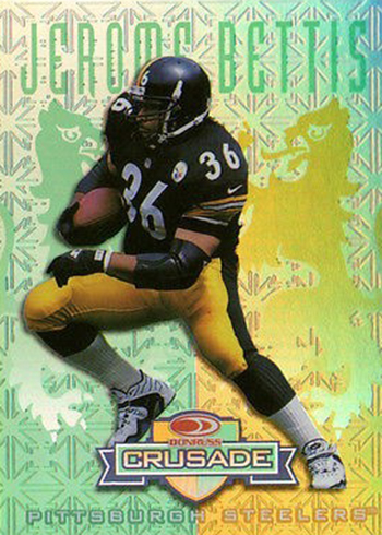 1998 Crusade 25 Jerome Bettis