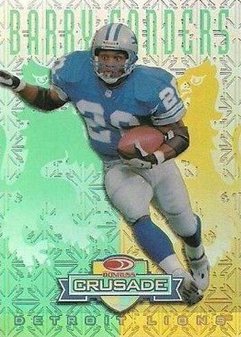 1998 Leaf Rookies and Stars Crusade 4 Barry Sanders