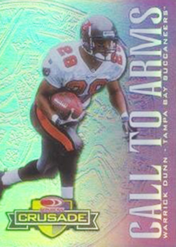 1998 Crusade 57 Warrick Dunn Purple