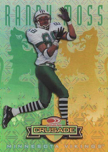 1998 Donruss Crusade 69 Randy Moss