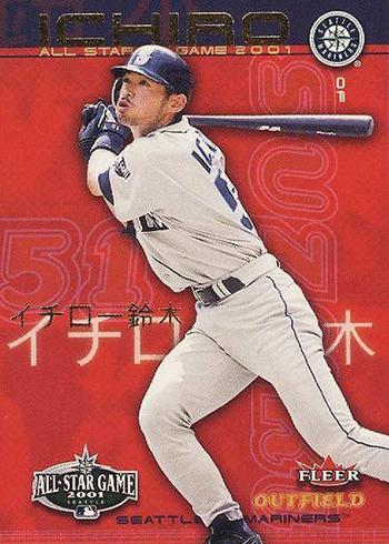 2001 Fleer FanFest Ichiro
