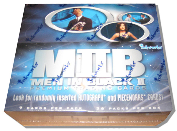 2002 Inkworks Men in Black II Box