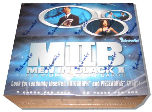 2002 Inkworks Men in Black II Box