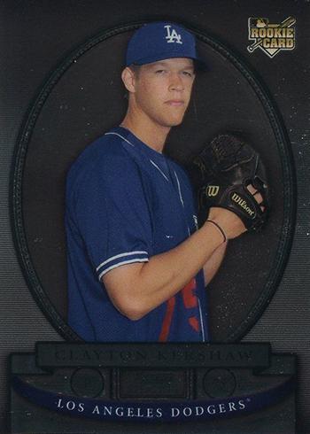 2008 Bowman Sterling Clayton Kershaw RC