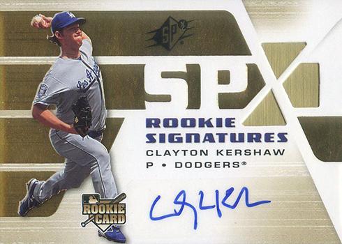 2008 SPx Clayton Kershaw RC