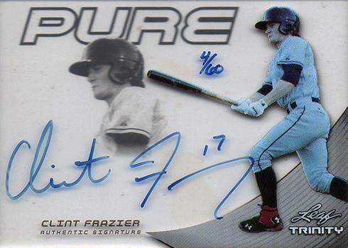 2013 Leaf Trinity Pure Autographs Clint Frazier