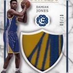 2016-17 Panini Excalibur Basketball Apprentice Shield Prime Damian Jones