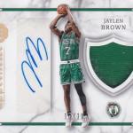 2016-17 Panini Excalibur Basketball Apprentice Shield Signature Holo Gold Jaylen Brown