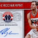 2016-17 Panini Excalibur Basketball CAlligraphy Gunmetal Bojan Bogdanovic