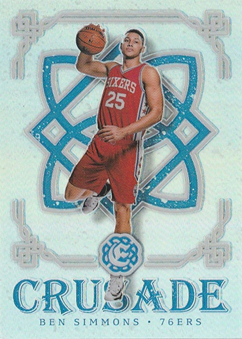 2016-17 Panini Excalibur Basketball Crusade Ben Simmons