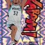 2016-17 Panini Excalibur Basketball Kaboom Karl-Anthony Towns