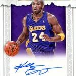 2016-17 Panini Excalibur Basketball Manuscripts Holo Gold Kobe Bryant