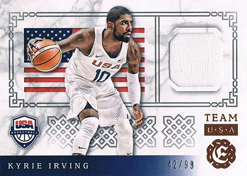 2016-17 Panini Excalibur Basketball Team USA Kyrie Irving