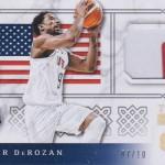 2016-17 Panini Excalibur Basketball Team USA Prime DeMar DeRozan