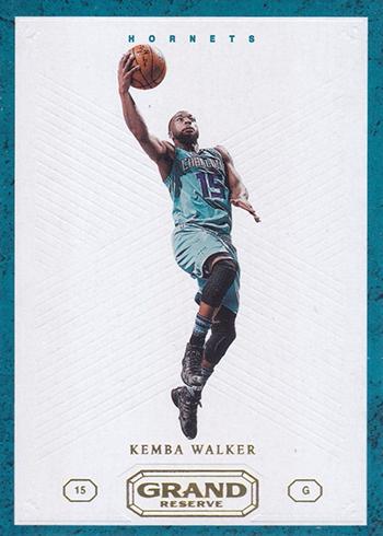 2016-17 Panini Grand Reserve Basketball Base Kemba Walker
