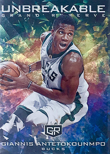 2016-17 Panini Grand Reserve Basketball Unbreakable Giannis
