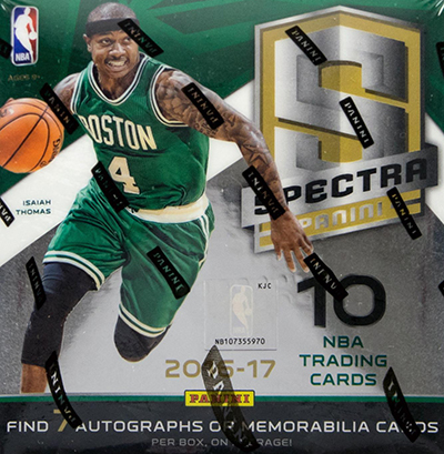 2016-17 Panini Spectra Basketball Hobby Box