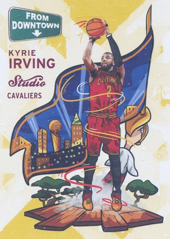 2016-17 Studio FD 12 Kyrie Irving