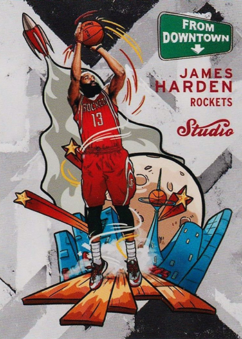 2016-17 Studio FD 2 James Harden