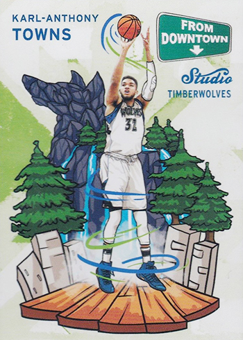 2016-17 Studio FD 3 Karl-Anthony Towns