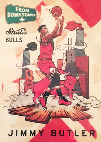 2016-17 Studio FD 8 Jimmy Butler