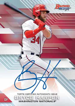 2017 Bowman's Best Baseball Best of 2017 Autographs