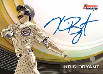 2017 Bowman's Best Baseball Monochrome Autographs