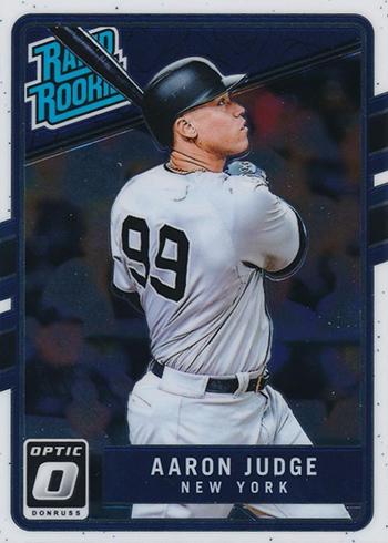 2017 Donruss Optic Aaron Judge Rookie Card