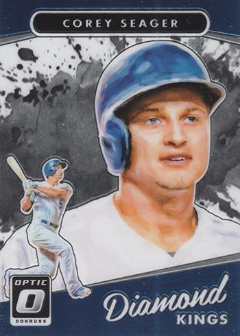 2017 Donruss Optic Baseball Base Diamond Kings Corey Seager