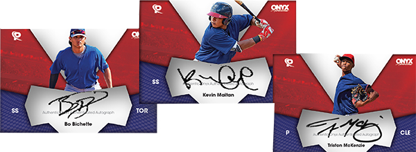 2017 Onyx Platinum Elite Baseball Autographs