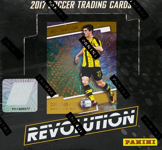 2017 Panini Revolution Soccer Hobby Box