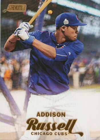 2017 SC 165 Addison Russell Gold