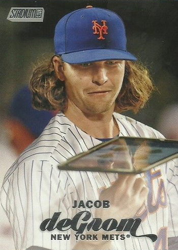 2017 SC Var 268 Jacob deGrom