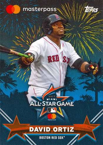 2017 Topps All-Star FanFest David Ortiz
