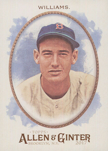 2017 Topps Allen and Ginter Base 110 Ted Williams