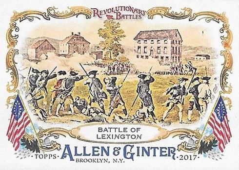 2017 Topps Allen and Ginter Baseball Revolutionary Battles