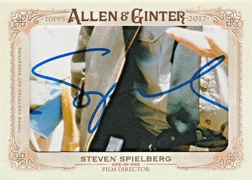 2017 Topps Allen and Ginter Cut Signatures Steven Spielberg