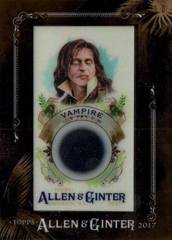 2017 Topps Allen and Ginter Fictional Figures Framed Relics Vampire