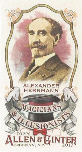 2017 Topps Allen and Ginter Magicians and Illusionists