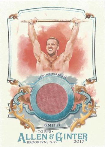 2017 Topps Allen and Ginter Relic Ben Smith