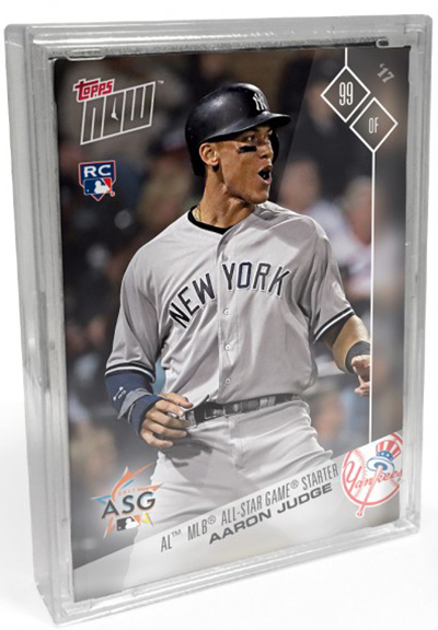 2017 Topps Now American League All-Star Box Set