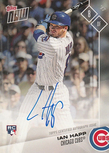 2017 Topps Now Platinum Autographs Ian Happ