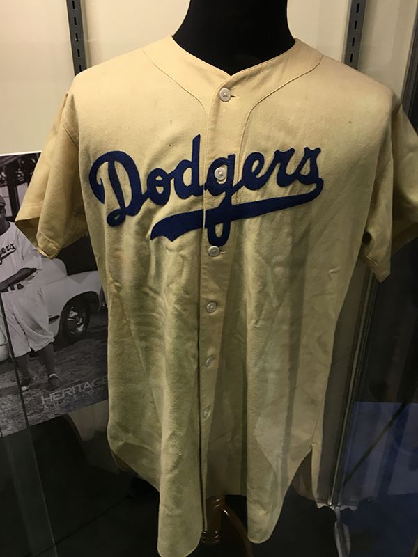 Jackie Robinson Game-Used Rookie Jersey, Heritage Auctions (October 2017)
