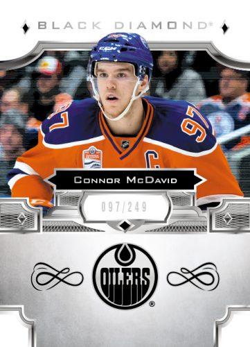 2017-18 Upper Deck Black Diamond Hockey Connor McDavid